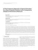 """Báo cáo hóa học: """"A Time-Frequency Approach to Feature Extraction for a Brain-Computer Interface with a Comparative Analysis of Performance Measures"""""""