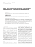 """Báo cáo hóa học: """"A New Time-Hopping Multiple Access Communication System Simulator: Application to Ultra-Wideband"""""""