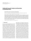 "Báo cáo hóa học: ""Multimodal Semantic Analysis and Annotation for Basketball Video"""