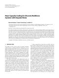 "Báo cáo hóa học: ""Near-Capacity Coding for Discrete Multitone Systems with Impulse Noise"""