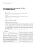 "Báo cáo hóa học: "" Videodensitometric Methods for Cardiac Output Measurements"""