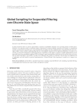 """Báo cáo hóa học: """"  Global Sampling for Sequential Filtering over Discrete State Space"""""""