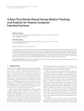 """Báo cáo hóa học: """"  A Real-Time Model-Based Human Motion Tracking and Analysis for Human Computer Interface Systems"""""""