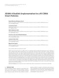 "Báo cáo hóa học: "" ADAM: A Realistic Implementation for a W-CDMA Smart Antenna"""