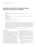"""Báo cáo hóa học: """" Ridge Distance Estimation in Fingerprint Images: Algorithm and Performance Evaluation"""""""