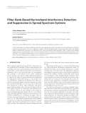 """Báo cáo hóa học: """" Filter-Bank-Based Narrowband Interference Detection and Suppression in Spread Spectrum Systems"""""""