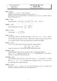 Đề thi thử đại học cao đẳng môn toán 2012