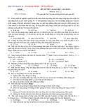 Đề ôn thi đại học cao đẳng môn vật lý 2012_đề 3