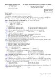 Đề thi thử đại học cao đẳng môn hóa học 2012_7
