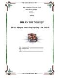 Đồ án tốt nghiệp: Động cơ phun xăng trực tiếp GDI 3S-FSE