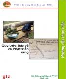 Ebook Quy ước Bảo vệ và Phát triển rừng - Sở Nông Nghiệp & PTNT Dak Lak