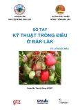 sổ tay Kỹ thuật trồng điều ở Đắk Lắk - Lê Ngọc Báu