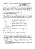 Phương pháp giải toán thể tích trong đề thi tuyển sinh ĐH - CĐ