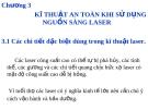 Nguyên lý laser - Chương 3