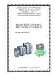 Hướng dẫn cài đặt và sử dụng biến tần Siemens MM420