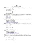 Đề thi thử đại học môn Lý Bộ đề 2