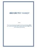 Đề tài: Thực trạng việc áp dụng các nguyên tắc thiết lập hệ thống thu NSNN ở nước ta giai đoạn hiện nay