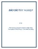 Đề tài: Phân tích hoạt động kinh doanh tại Ngân Hàng Thương Mại Cổ Phần Đông Á – Chi nhánh An Giang