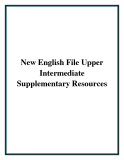 New English File Upper Intermediate Supplementary Resources