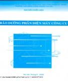 bảo dưỡng phần điện máy công cụ - cĐ công nghiệp hà nội