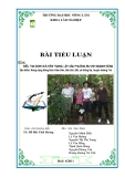 Tiểu luận: Điều tra đánh giá hiện trạng, lập các phương án kinh doanh rừng tại địa điểm rừng cộng đồng thôn Kâm Sân, tiểu khu 286, xã Hồng Hạ, Hương Trà