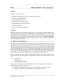 Giáo trình môn ngôn ngữ lập trình C