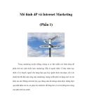 Mô hình 4P và Internet Marketing