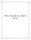 MBA trong tầm tay - Quản lí dự án