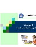 Chương 2: Hành vi khách hàng điện tử