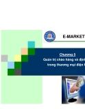 Chương 5: Quản trị chào hàng và định giá trong thương mại điện