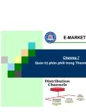 Marketing Thương Mại Điện Tử - Chương 7 Quản trị phân phối trong Thương mại điện tử