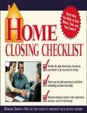 Home Closing Checklist - Robert Irwin