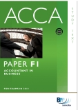 PAPER F1 ACCOUNTANT IN BUSINESS