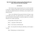 Quá trình hình thành và phương pháp diễn thuyết quan niệm về kinh tế nhà nước trong Mac