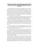 Quá trình hình thành và phương pháp giải quyết thực trạng giải pháp phát triển doanh nghiệp nhà nước ở Việt Nam