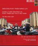 Tài liệu thảo luận Quản lý môi trường và phát triển đô thị ở Việt Nam