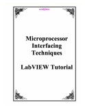 Microprocessor Interfacing Techniques LabVIEW Tutorial