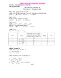 Tuyển tập đề thi môn tóan một số trường