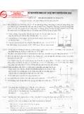 Tuyển tập đề thi tuyển sinh lớp 10 hệ THPT Chuyên môn vật lý