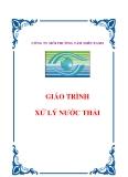 Giáo trình Xử lý nước thải - TS. Nguyễn Trung Việt, TS. Trần Thị Mỹ Diệu (Đồng chủ biên)
