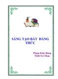 Ebook Sáng tạo Bất đẳng thức - Phạm Kim Hùng