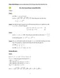 Tài liệu ôn thi chuyên toán bậc THCS