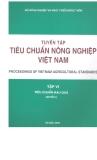 Tập 6 Tiêu chuẩn rau quả - Tiêu chuẩn Nông nghiệp Việt Nam