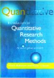 INTRODUCTION TO QUANTITATIVE RESEARCH METHODS