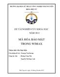 Mã hóa bảo mật trong Wimax