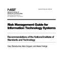 Risk Management Guide for Information Technology Systems