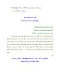 HẠCH TOÁN TÀI KHOẢN 228 ĐẦU TƯ DÀI HẠN KHÁC