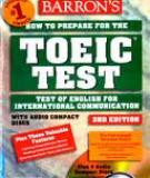 Sách Test Of English For International Communication