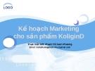 Kê hoạch Marketing cho sản phẩm KoliginD