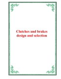 Clutches and brakes design and selection